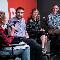 CMO Lindsay Nelson hosted leaders from MailChimp, Midroll, and Vayner Media for a discussion about the opportunities and challenges for brand advertising and alignment in the ever-growing world of podcasting.