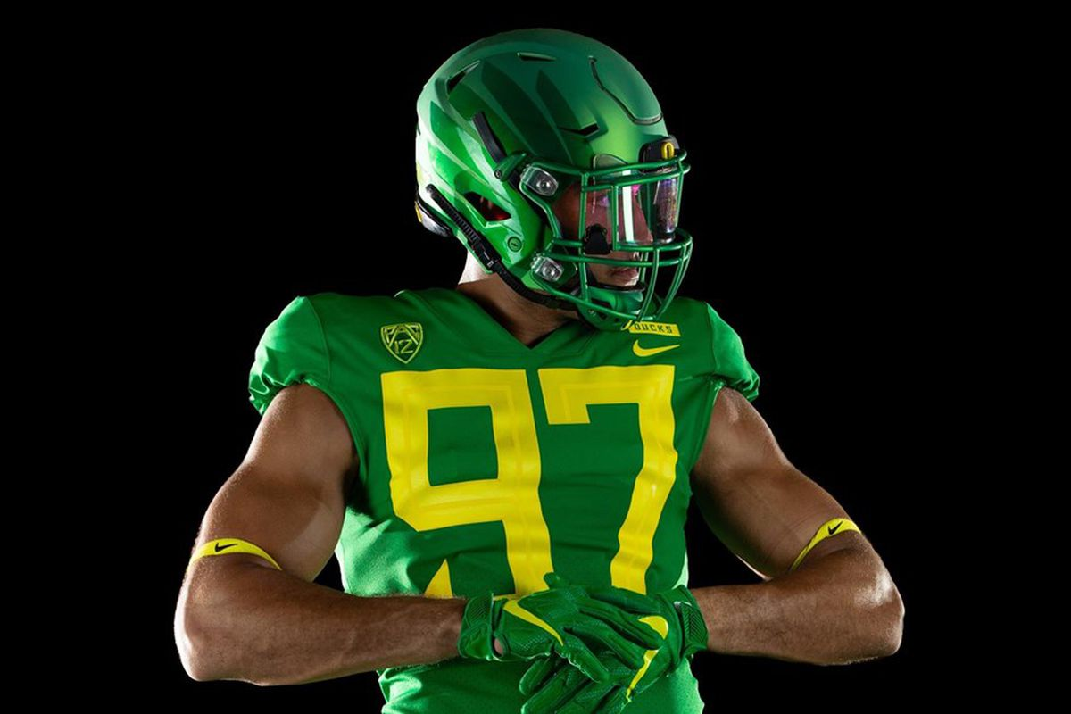 new arrival 2db2c 213af Oregon's new uniforms are fresh, but have hilarious numbers ...