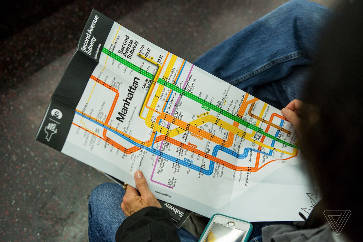 Q Line Subway Map.The Second Avenue Subway Is Finally Open And People Are Flipping
