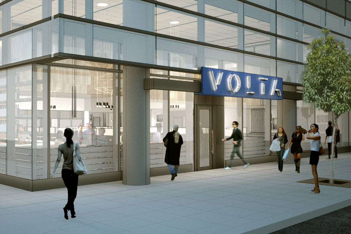 A rendering of the upcoming Volta.