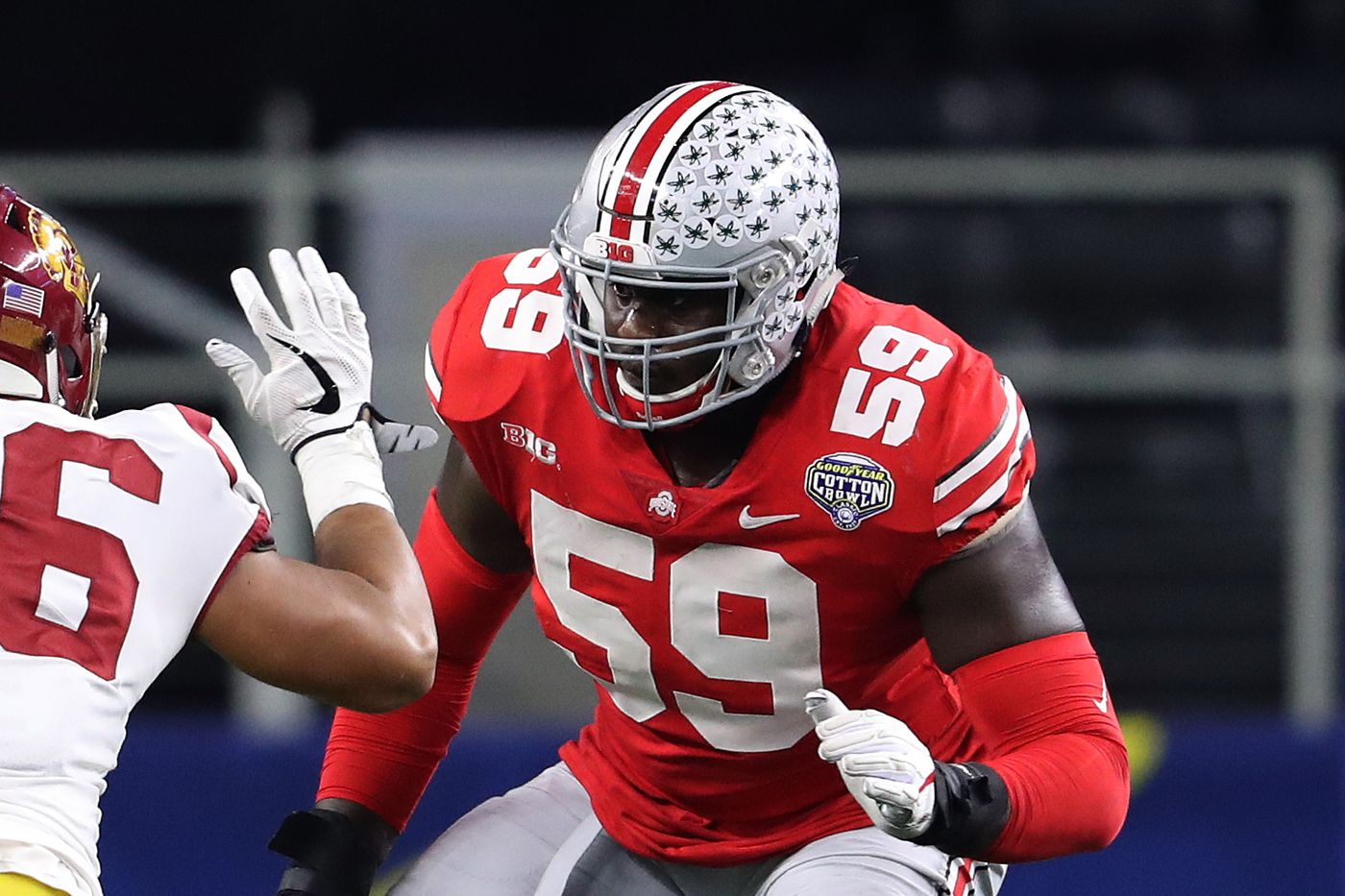 buy popular dc6e1 41a83 Ohio State's Isaiah Prince ready to lead on offensive line ...
