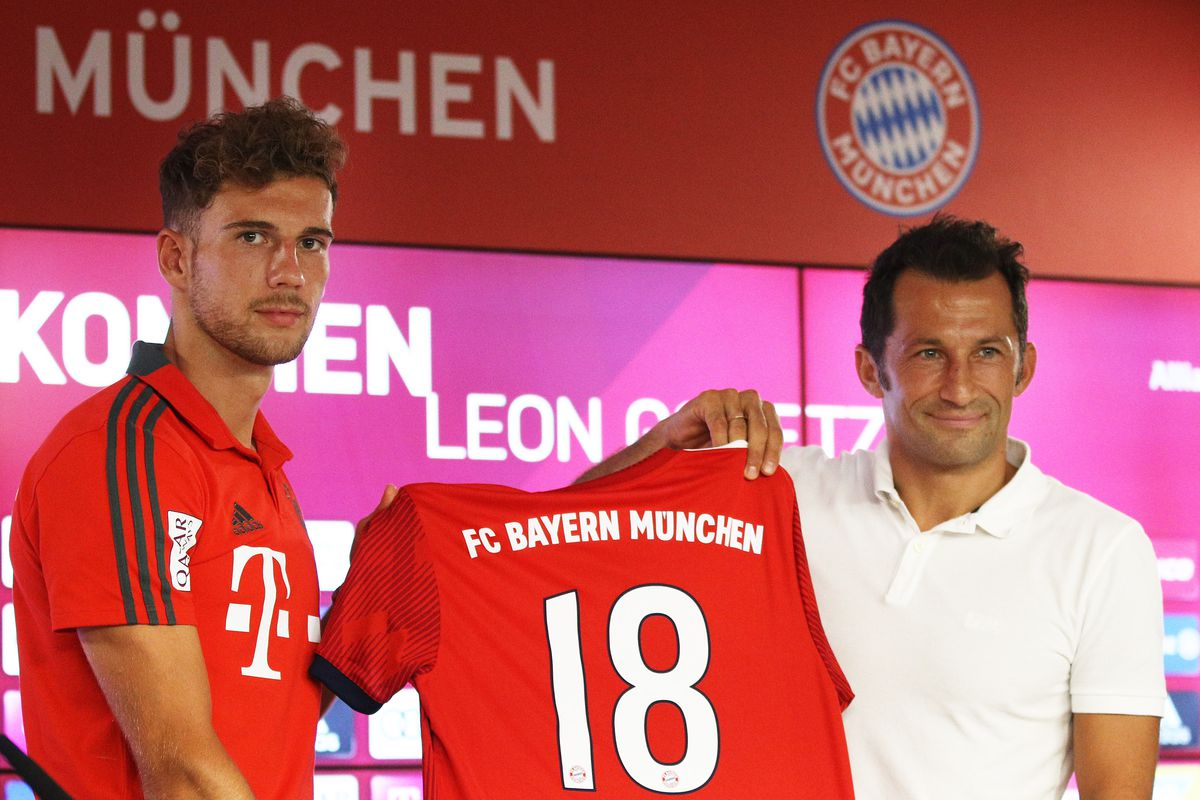 promo code 41e0e 5165a Leon Goretzka talks Bayern over Barcelona and the World Cup ...