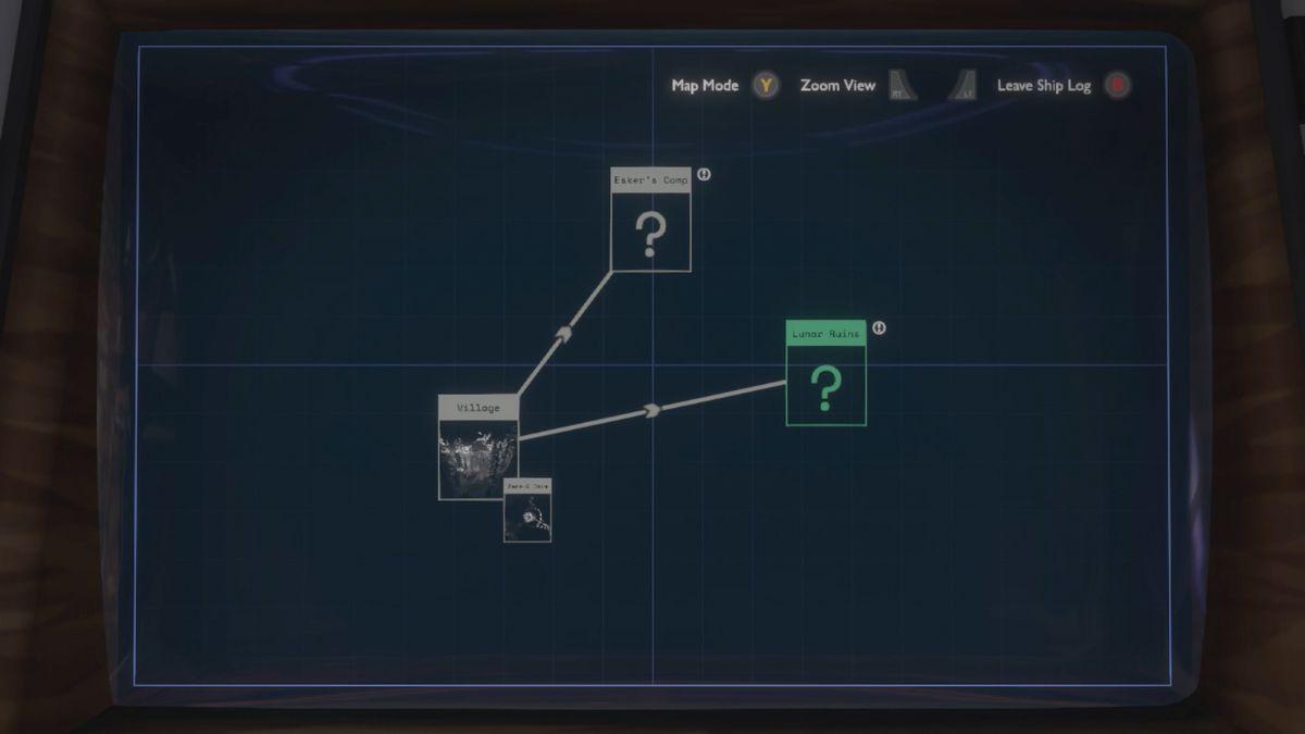 Outer Wilds beginner's guide Ship Log
