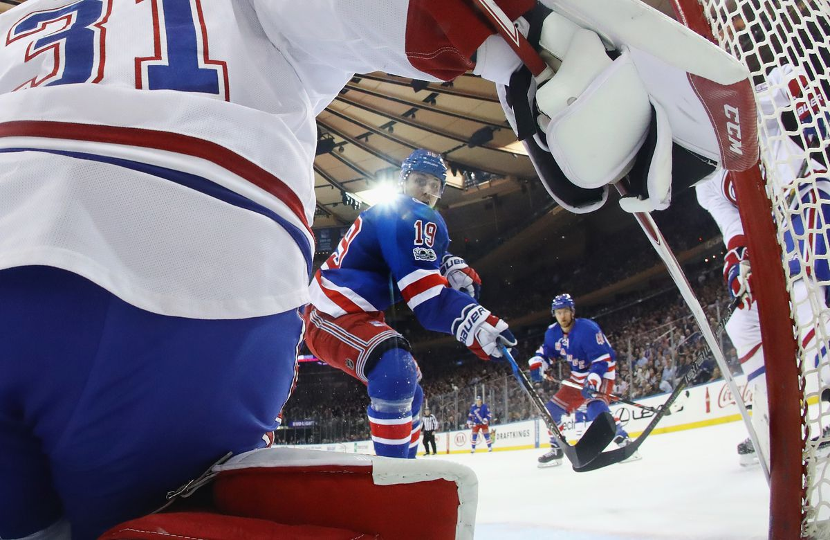 Montreal Canadiens v New York Rangers - Game Four