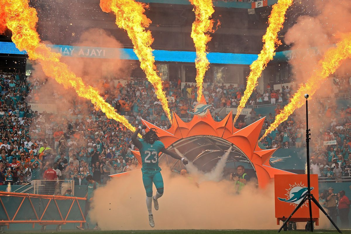New England Patriots v Miami Dolphins