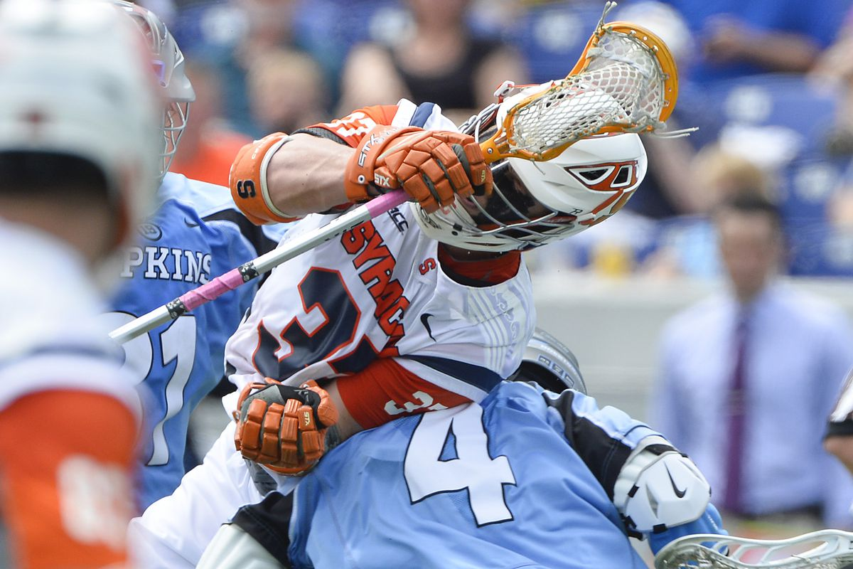 NCAA Lacrosse: Quarterfinals- Syracuse-Johns Hopkins