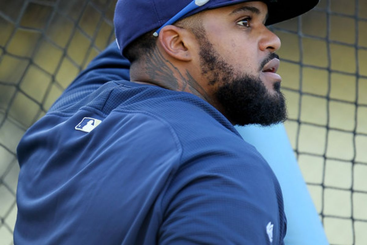 Prince Fielder would be a huge addition to the power-starved Dodger lineup.