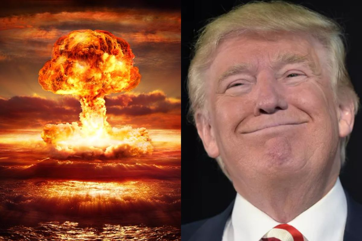 Reviewing nukes was not Trump's first order, it was his 13th