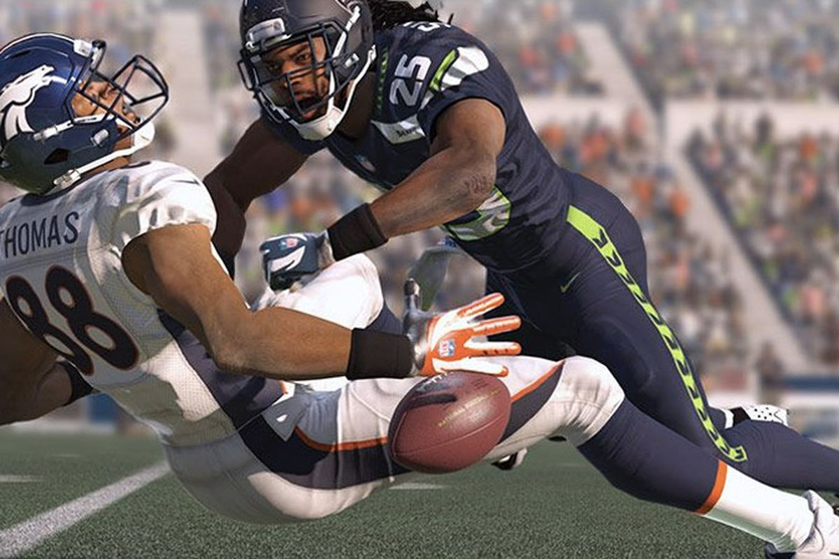 Madden Nfl 15 Cover To Feature Seattle Seahawks Richard