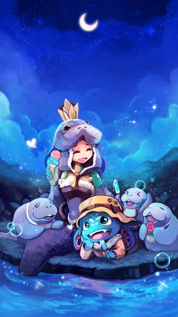 Download Cute Phone Wallpapers From The Korean League Mobile Store