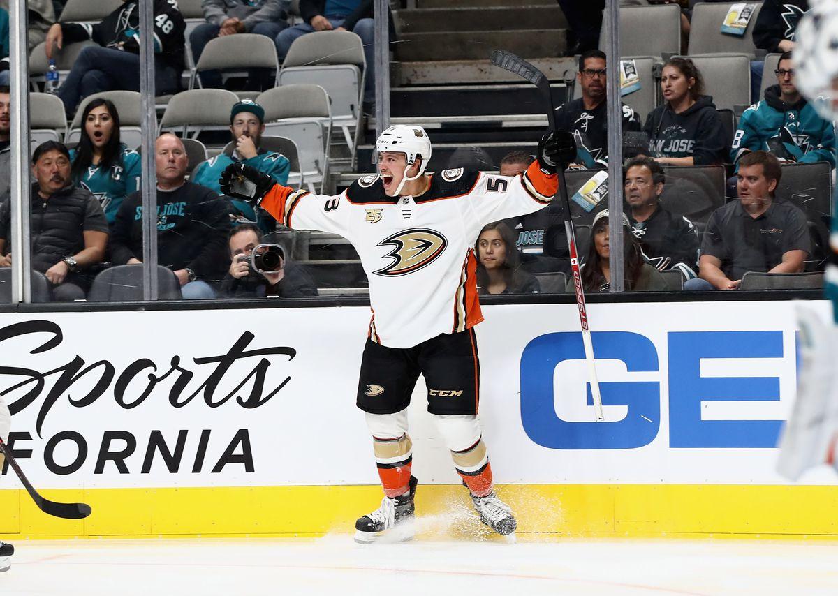 Anaheim Ducks v San Jose Sharks
