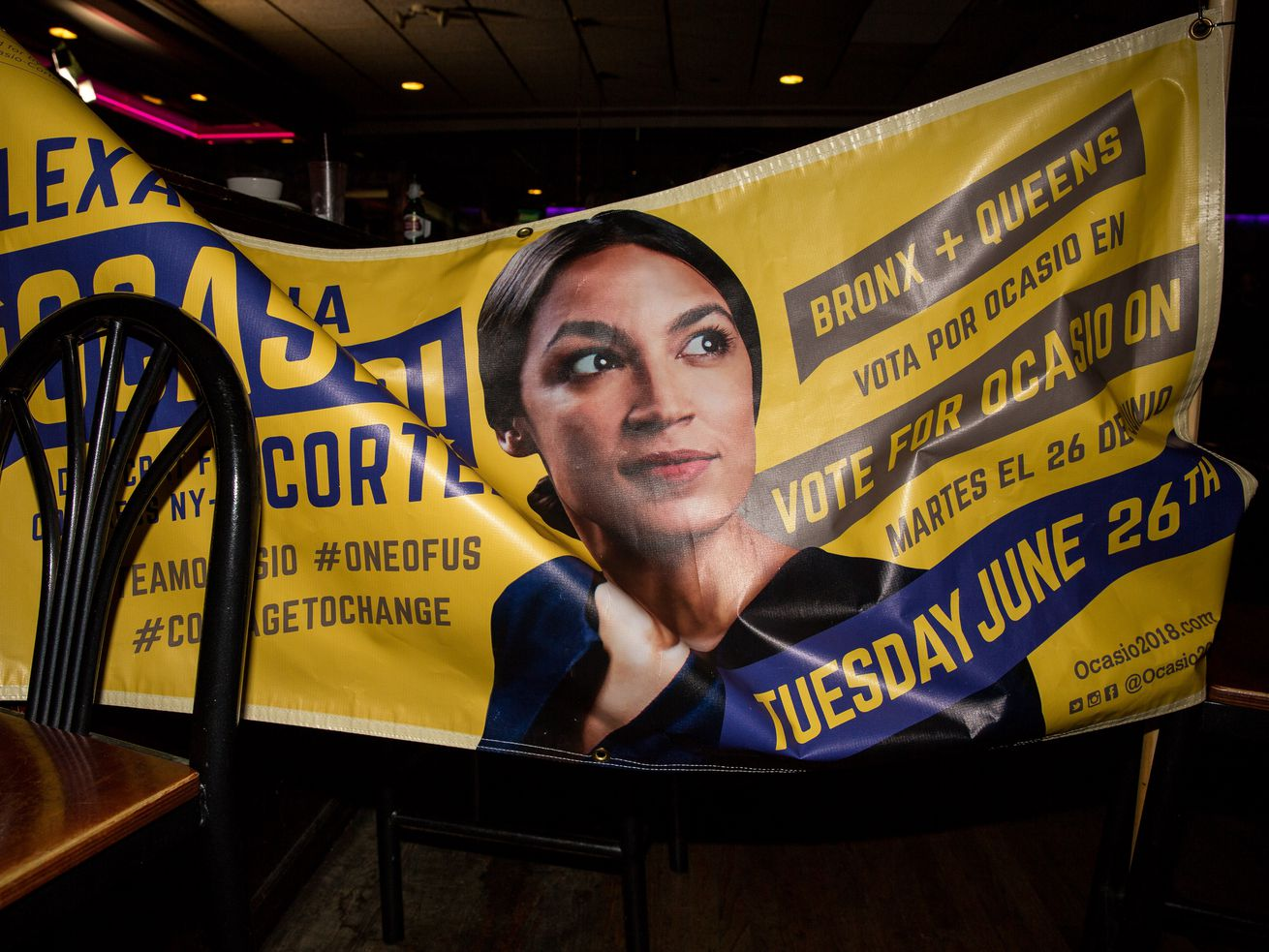 Another unexpected victory for Alexandria Ocasio-Cortez.