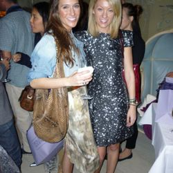 The Michael Kors PR girls, Savannah and Katie, dressed head to toe in Michael Kors. We thought they looked nice.