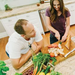 """Cade and Carrian Cheney are the authors of """"Our Sweet Basil Kitchen."""" After they had a freshly made Margherita pizza in San Fransisco, Cade and Carrian Cheney said they came home inspired to start baking their own way, creating recipes with fresh ingredients."""