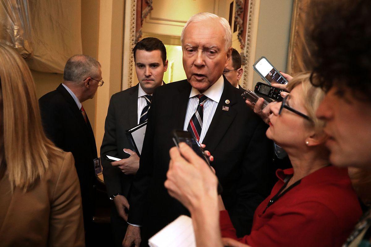 GOP Senators Hold Meeting To Discuss Draft Of Healthcare Bill