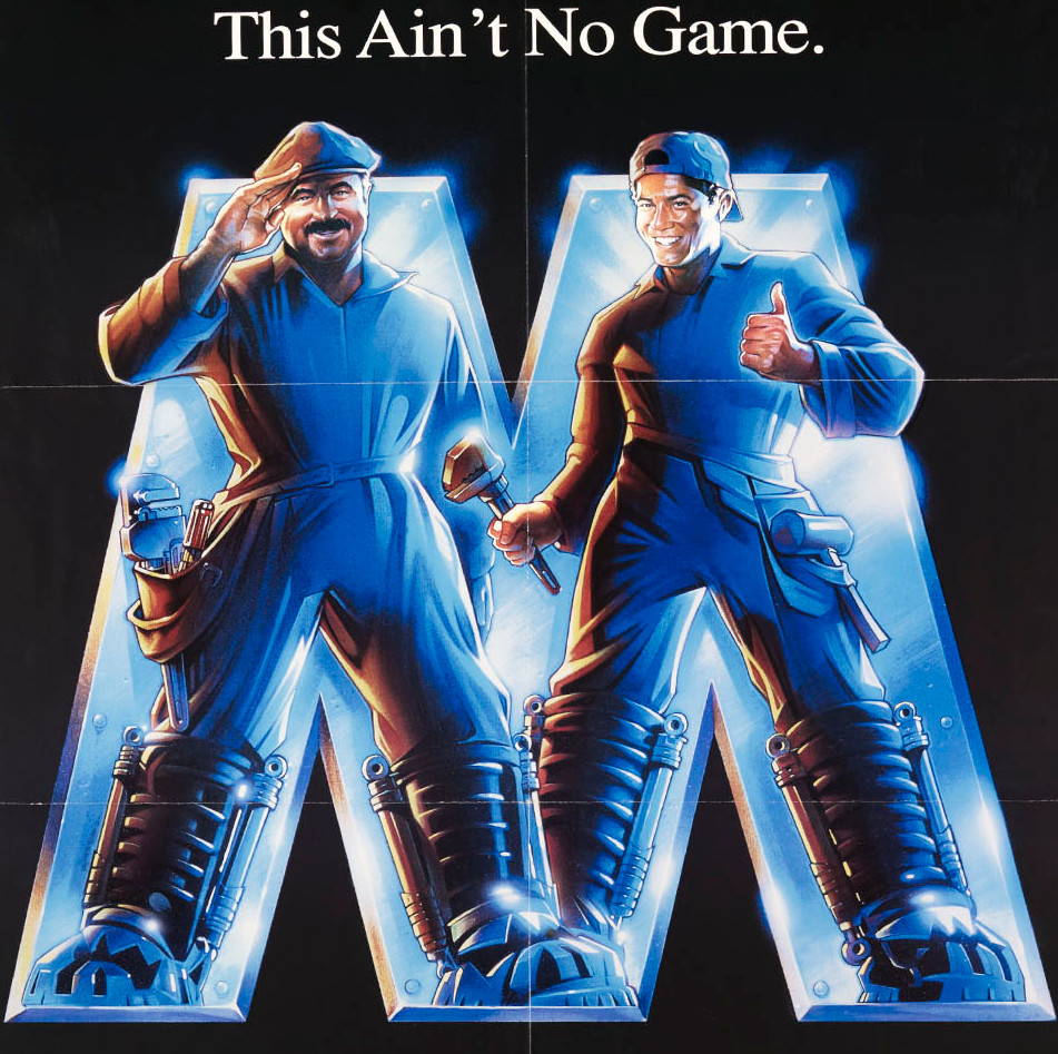 The poster for the Super Mario Bros. movie.
