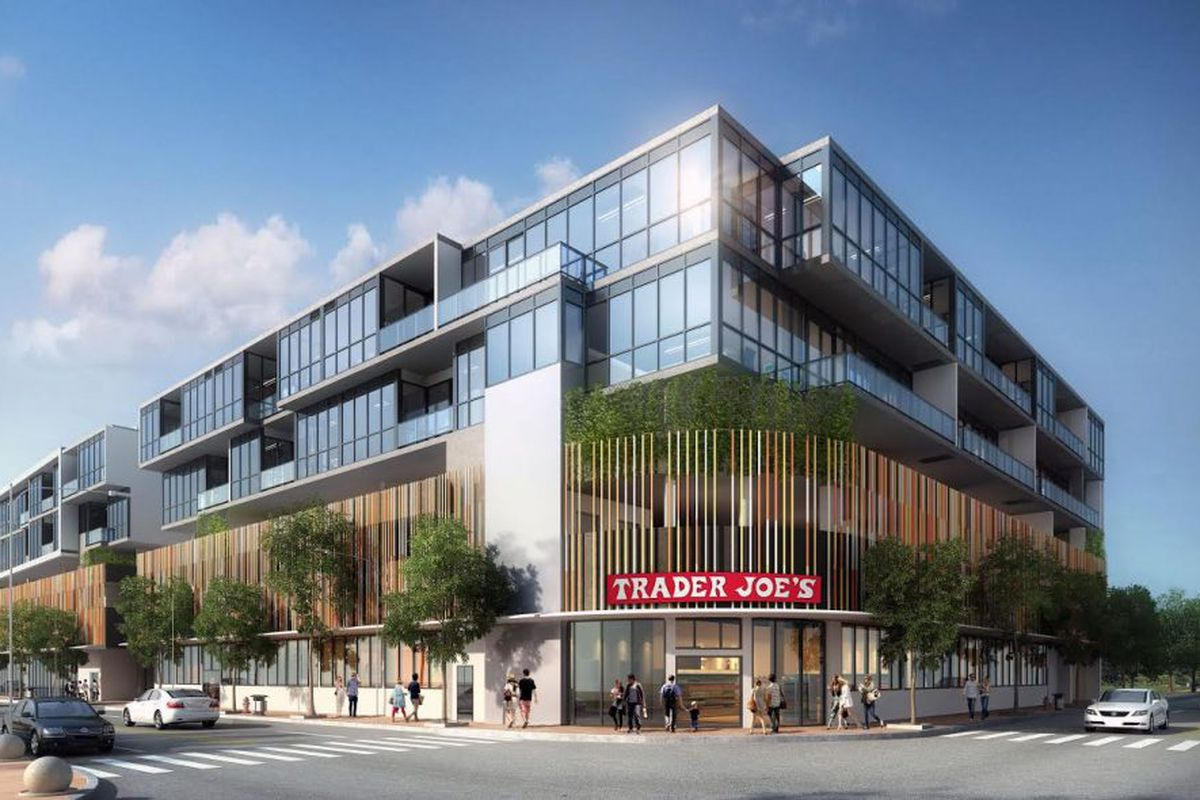 Rendering of a Trader Joe's in Miami Beach