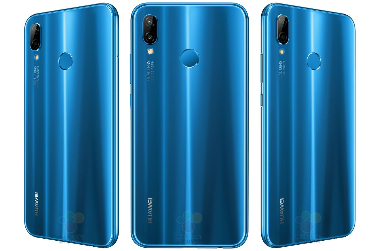 huawei s p20 lite makes video leak debut