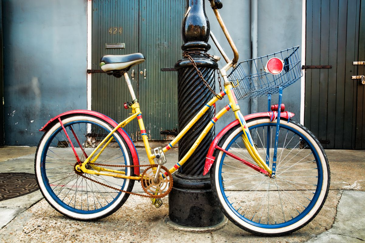 511141bec New Orleans has the second largest Bicycling population in the South. Photo  via Shutterstock Dawn L. Adams