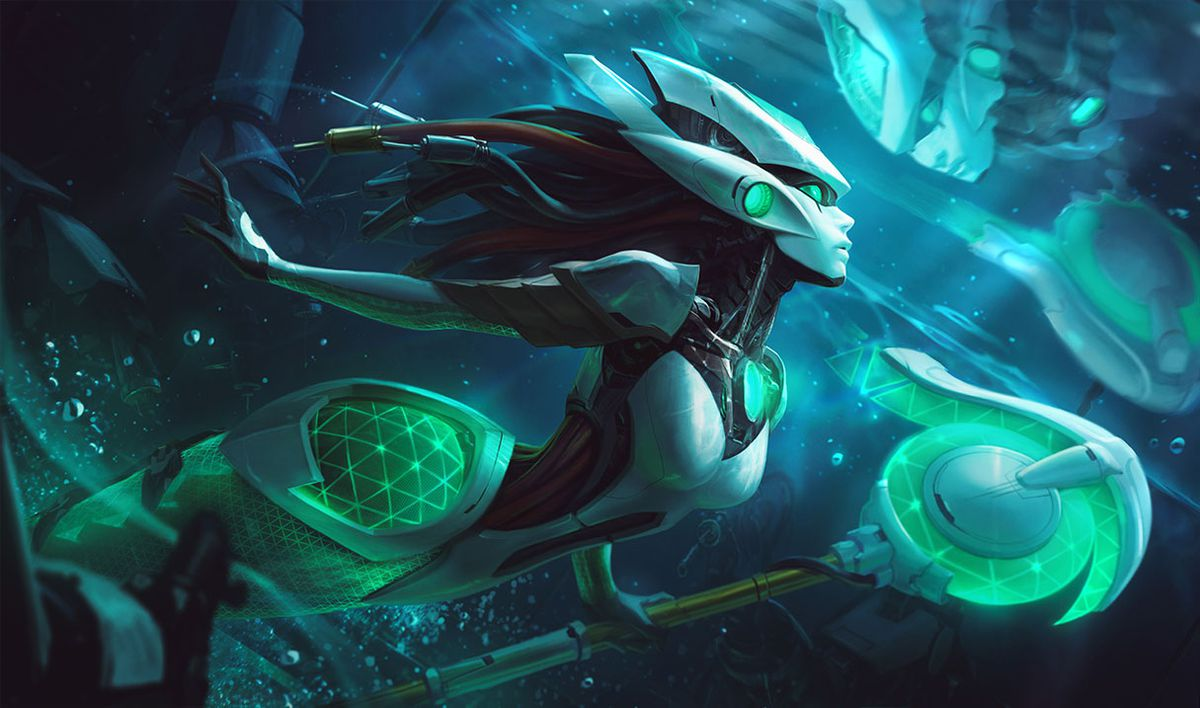Nami and LeBlanc join the Program skin lines with two new techno