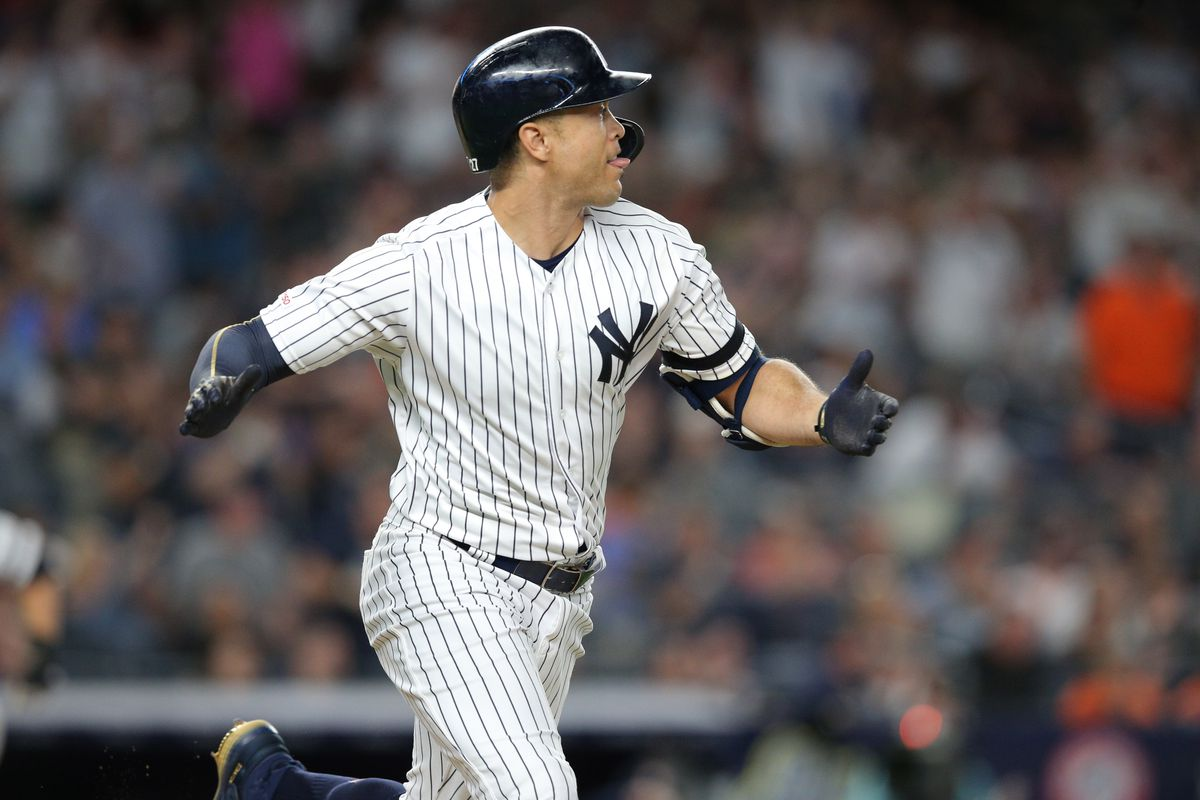 bc65ddffc Yankees place Giancarlo Stanton on injured list with strained PCL ...