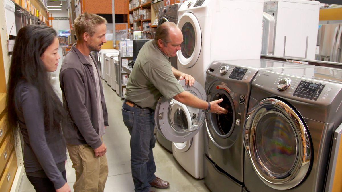 Energy Efficient Washer Dryer