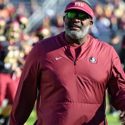 Associate Head Coach Odell Haggins had a good feeling about the defense before the game.