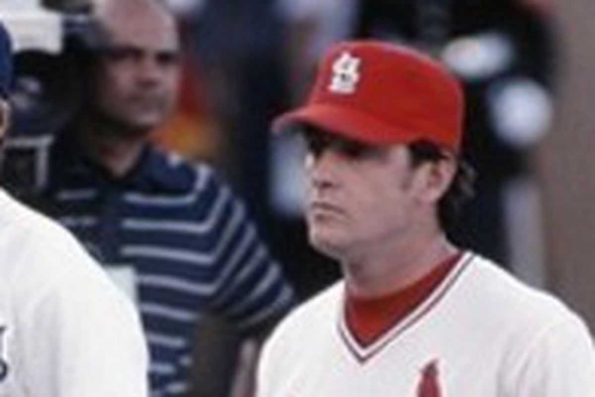 Simmons as an NL All Star with the Cardinals in 1978.
