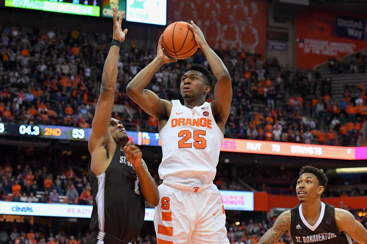 Syracuse Scheduling Smart But 2019 Ncaa Chances Shouldn T Be In