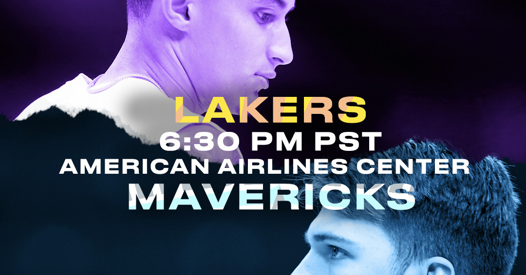 lakers vs mavericks - photo #25