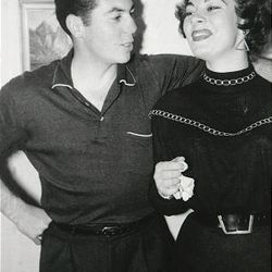 Dick and JoAnn Losee, owners of Losee Jewelers, in a 1955 photograph when they lived in Germany.