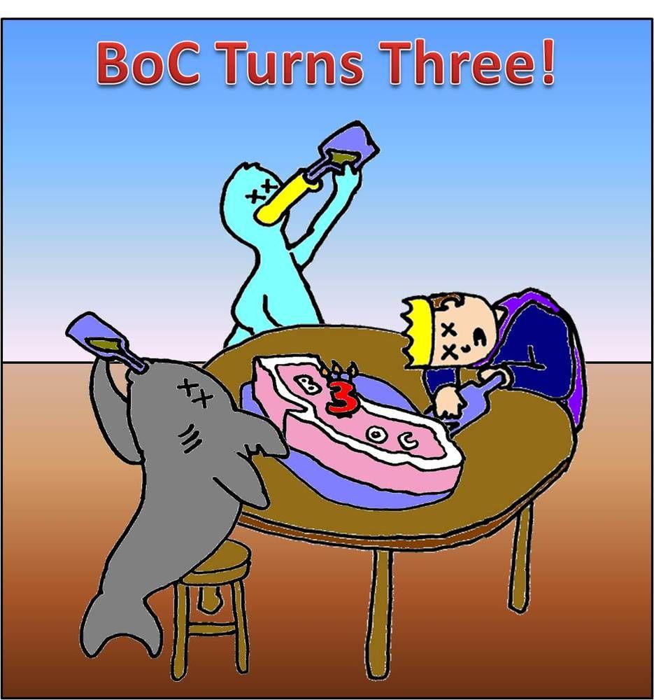 BoC Turns Three