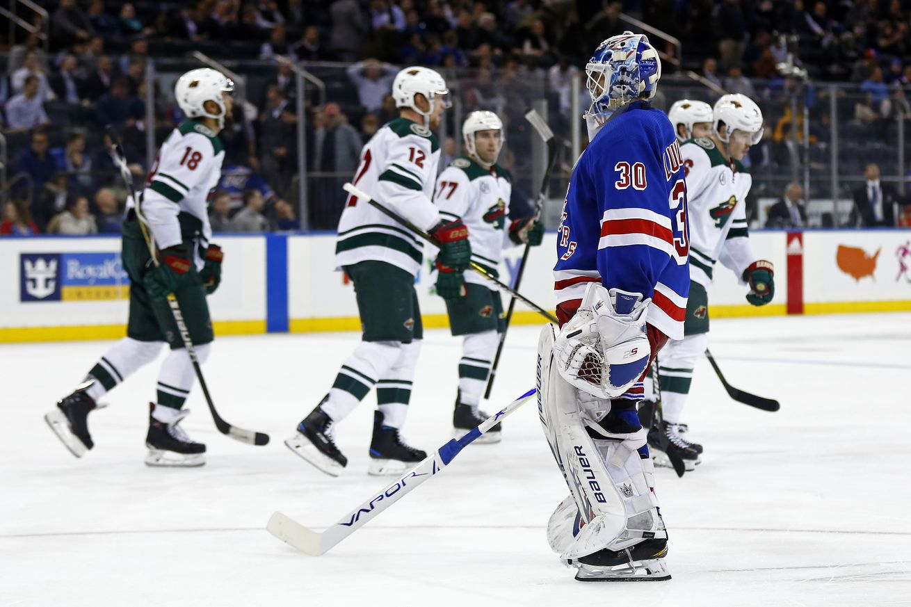 Rangers vs Wild: Rangers Give Up Three Unanswered to Minnesota