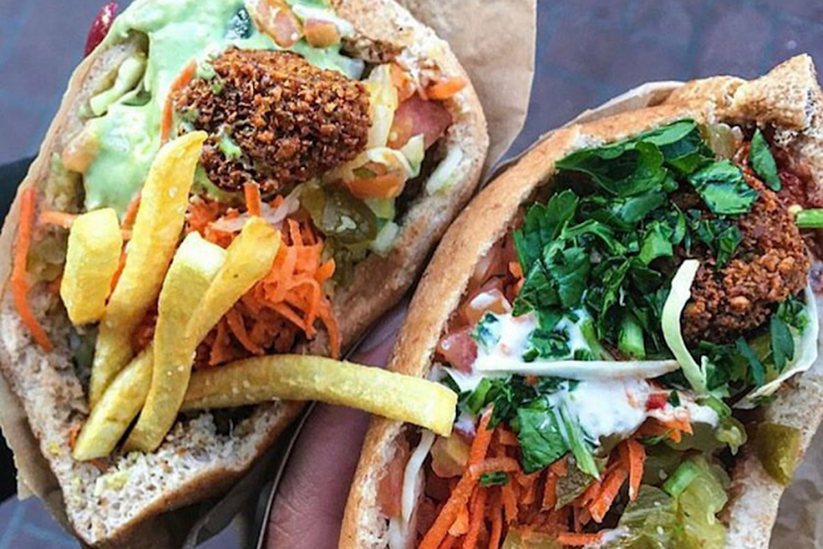 Sandwiches from Flying Falafel