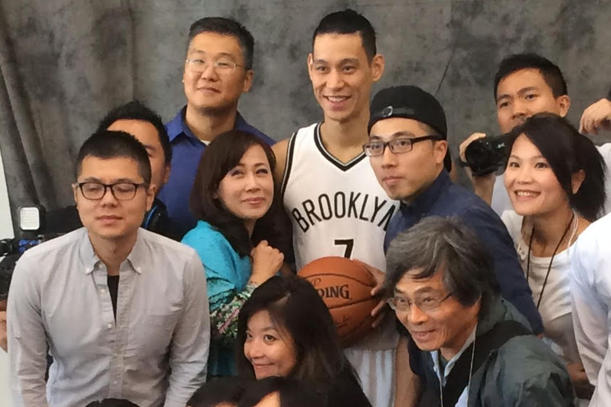 A Gallery: Scenes from Nets Media Day