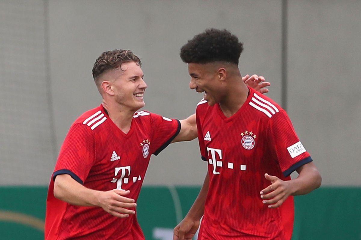 Bayern Muenchen U17 v Borussia Dortmund U17 - B Juniors German Championship Final