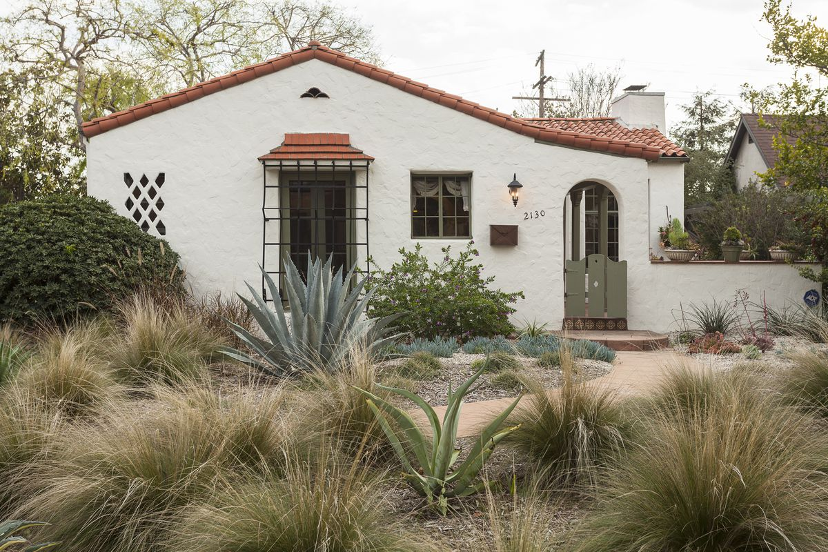 Bidding for adorable spanish style in pasadena will start for Spanish style homes for sale