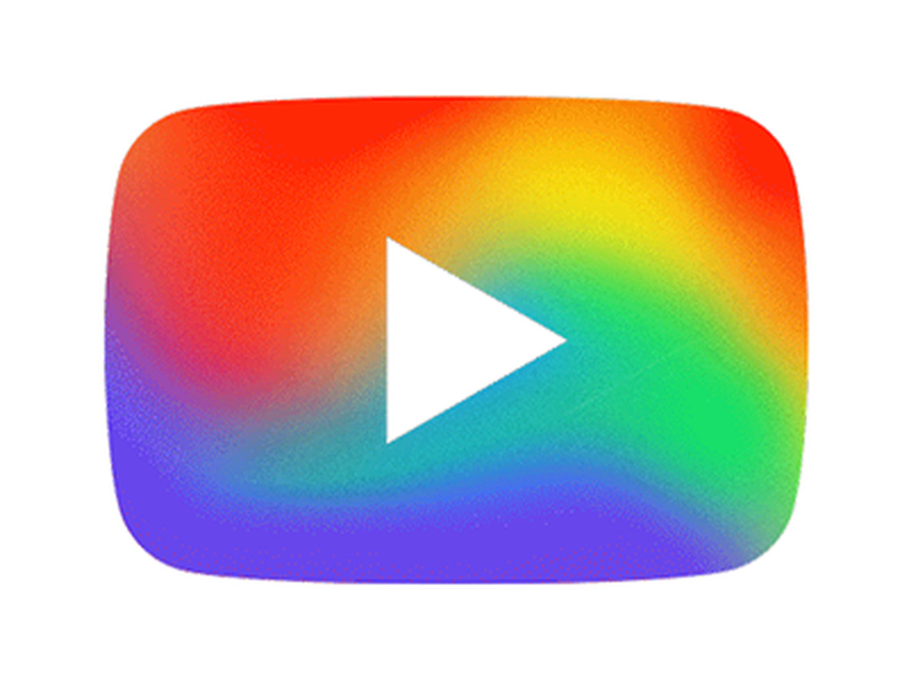 YouTube updated its social media icon for Pride month — just in time to tell queer users that homophobic hate speech may be okay.
