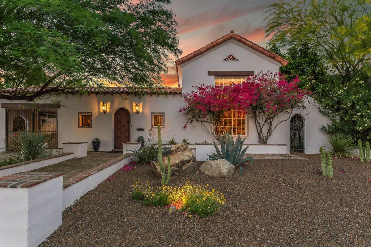 1928 Spanish Revival With Eclectic Interiors Asks 797k
