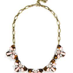 "Bliss collar necklace, <a href=""http://www.baublebar.com/bliss-collar-necklace.html"">$68</a>"