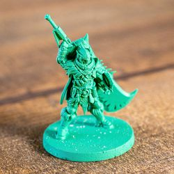 The miniatures for the Monster Hunter: World board game 3D printed, part of a promotional demo version of the game.