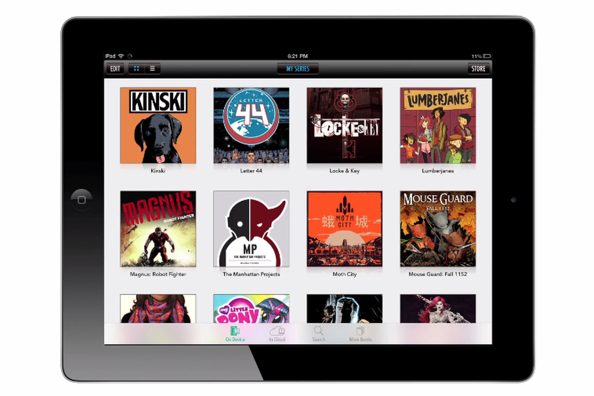 Comixology users can now download DRM-free backups of some