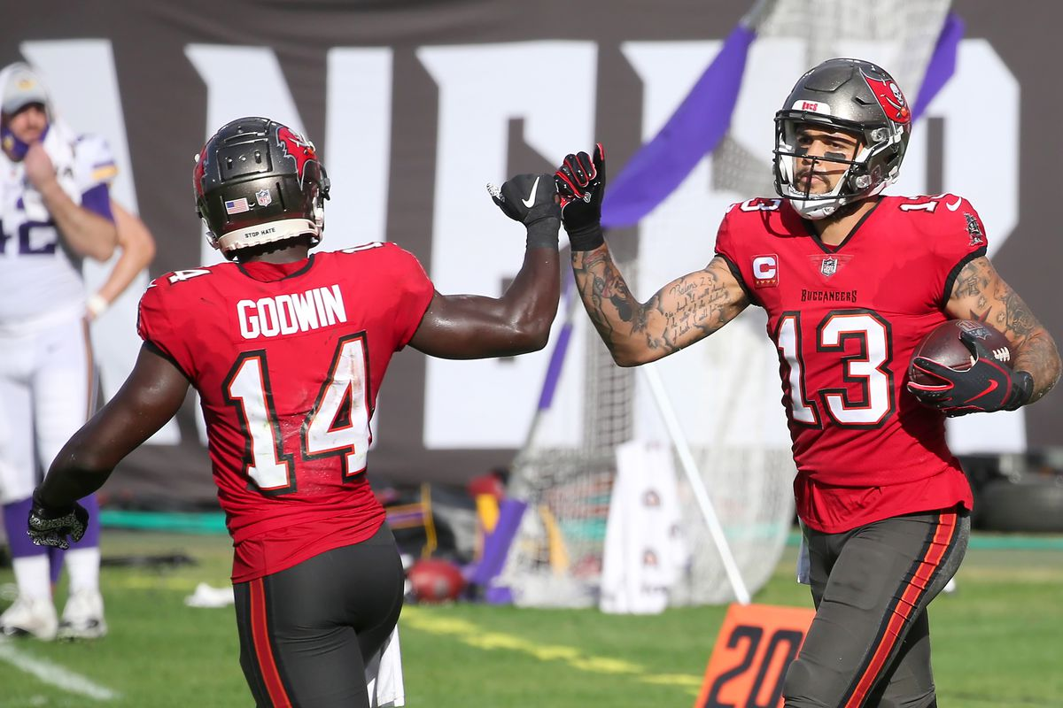 Mike Evans, Chris Godwin injury update: Bucs WRs taken off final injury  report for Divisional Round - DraftKings Nation