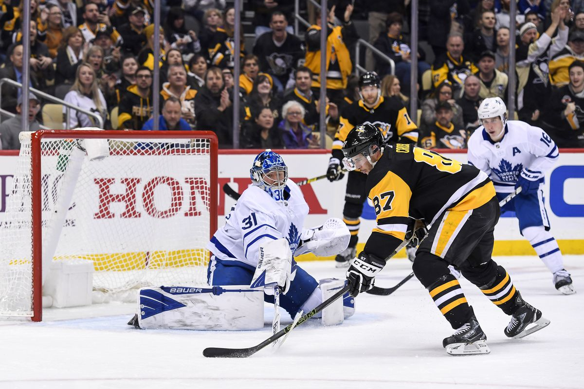 NHL: FEB 18 Maple Leafs at Penguins