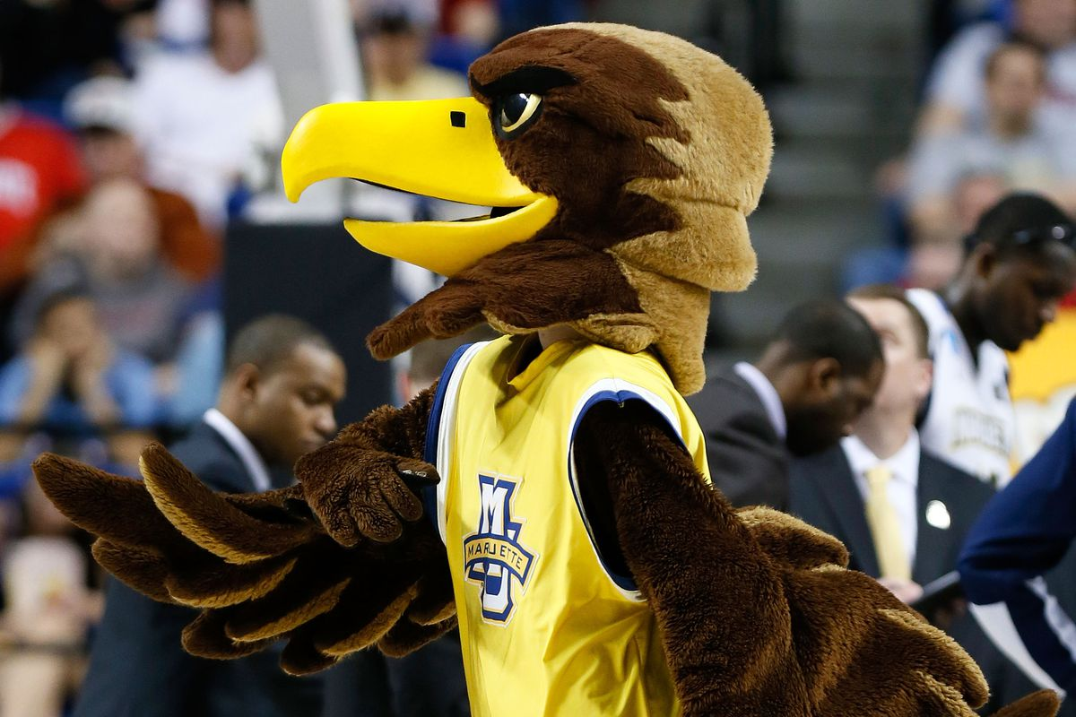 It's a big weekend for the Golden Eagle as the hosting mascot.