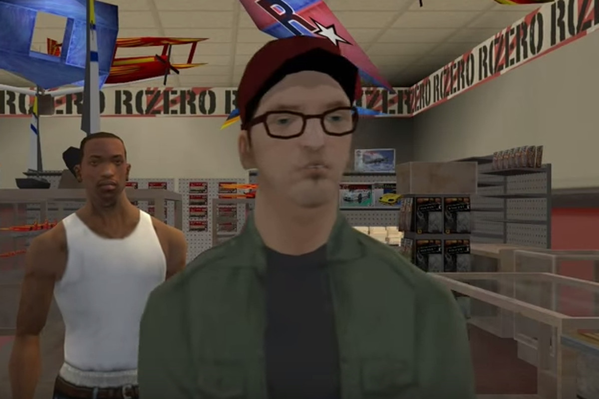 Remember that impossible mission in GTA: San Andreas? Even the voice