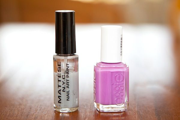 How to diy nail art at home a handy guide to not completely another trick i learned from the fantastic nail artist sophie harris greenslade is to buy a thin nail polish bottle and replace the polish with nail polish prinsesfo Gallery