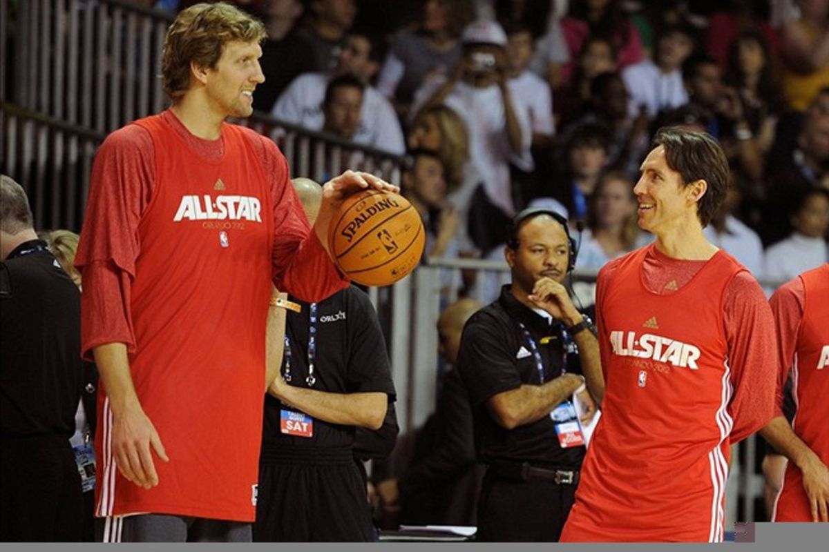Dirk Nowitzki and Steve Nash recently returned from injuries.  Can they stay healthy and productive?