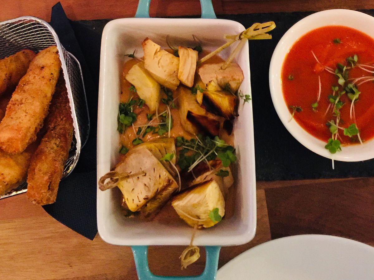 London's best vegetarian restaurants include Oliveira in Richmond