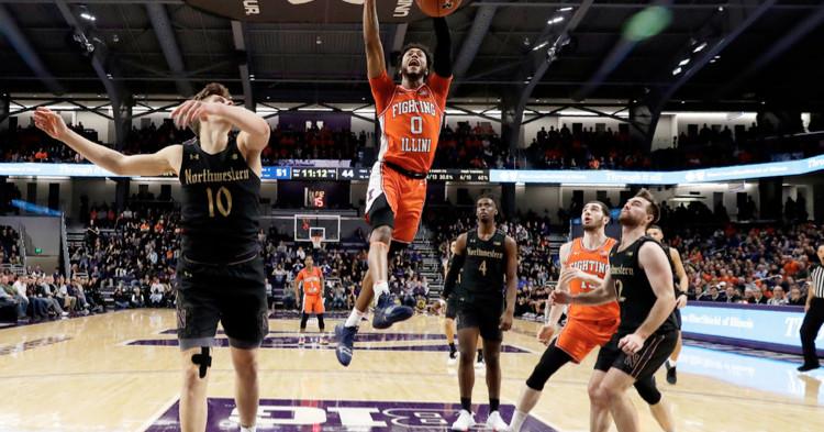 Illinois beats reeling Northwestern